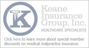 Keane Insurance Group Button